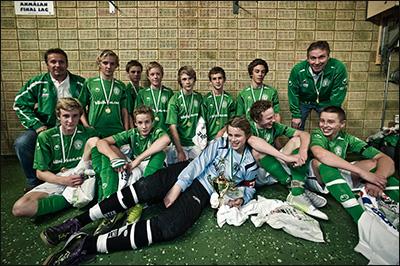 Vinnare P14 2011 - Alingsås IF Grön
