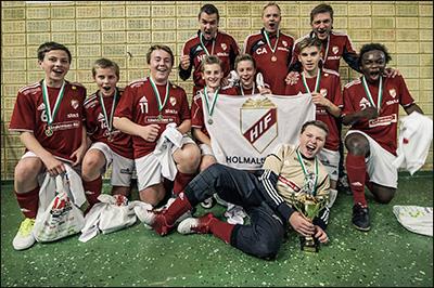Vinnare P14 2012 - Holmalunds IF Röd