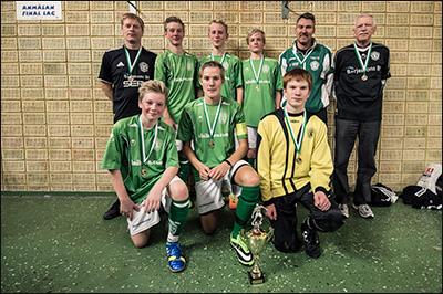 Vinnare P14 2013 - Alingsås IF Grön