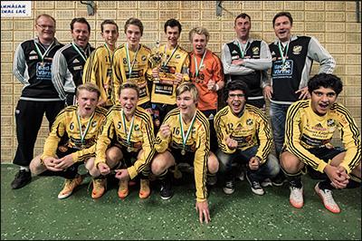 Vinnare P16 2013 - Gerdskens BK Gul