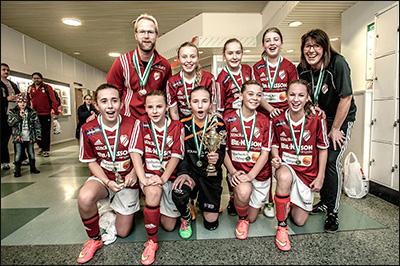 Vinnare F14 2014 - Holmalunds IF Röd