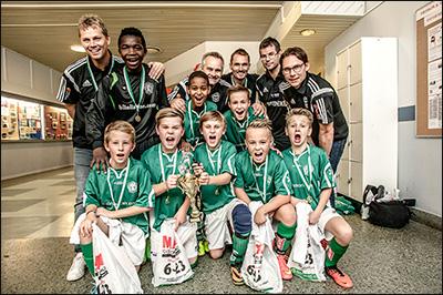 Vinnare P12 2014 - Alingsås IF Grön