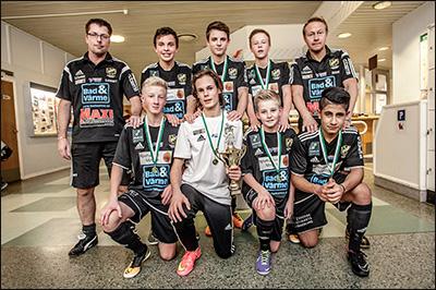 Vinnare P14 2014 - Gerdskens BK Svart